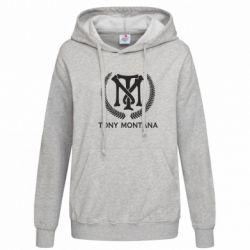 Толстовка жіноча Tony Montana Logo