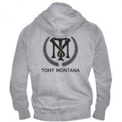 Чоловіча толстовка на блискавці Tony Montana Logo
