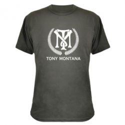 Камуфляжна футболка Tony Montana Logo