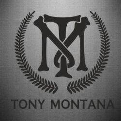Наклейка Tony Montana Logo