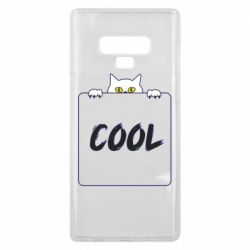 Чехол для Samsung Note 9 Top cat and the inscription cool