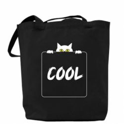 Сумка Top cat and the inscription cool