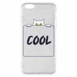 Чехол для iPhone 6 Plus/6S Plus Top cat and the inscription cool