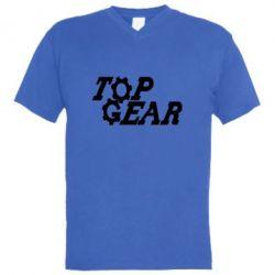 Чоловіча футболка з V-подібним вирізом Top Gear I