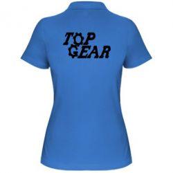 Жіноча футболка поло Top Gear I