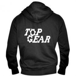 Чоловіча толстовка на блискавці Top Gear I