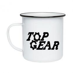 Кружка емальована Top Gear I