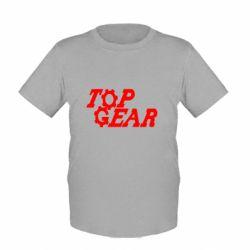 Дитяча футболка Top Gear I