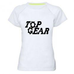 Жіноча спортивна футболка Top Gear I