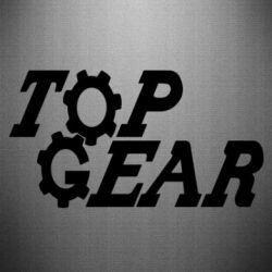Наклейка Top Gear I