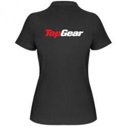 Женская футболка поло Top Gear - FatLine