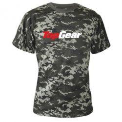 Камуфляжная футболка Top Gear - FatLine