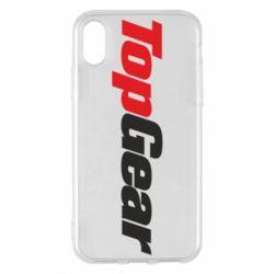 Чохол для iPhone X/Xs Top Gear