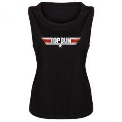 Майка жіноча Top Gun Logo