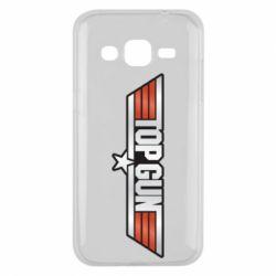 Чохол для Samsung J2 2015 Top Gun Logo