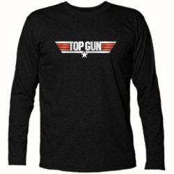 Футболка з довгим рукавом Top Gun Logo