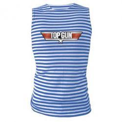 Майка-тельняшка Top Gun Logo