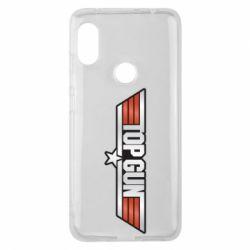 Чохол для Xiaomi Redmi Note Pro 6 Top Gun Logo