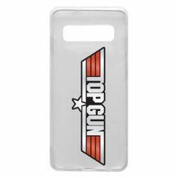 Чохол для Samsung S10 Top Gun Logo