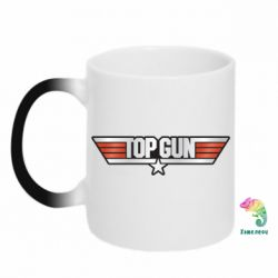 Кружка-хамелеон Top Gun Logo