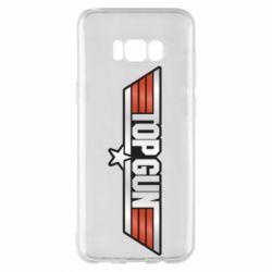Чохол для Samsung S8+ Top Gun Logo