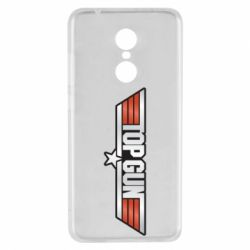 Чехол для Xiaomi Redmi 5 Top Gun Logo