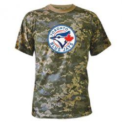 Камуфляжная футболка Toronto Blue Jays - FatLine