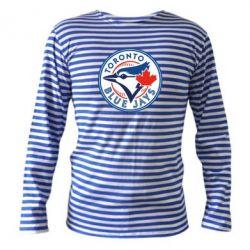 Тельняшка с длинным рукавом Toronto Blue Jays - FatLine