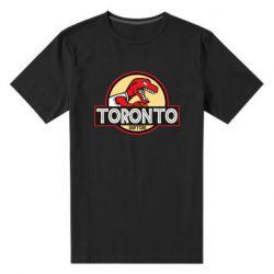 Мужская стрейчевая футболка Toronto raptors park