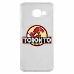 Чехол для Samsung A3 2016 Toronto raptors park