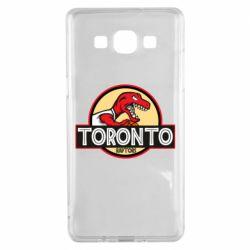 Чехол для Samsung A5 2015 Toronto raptors park