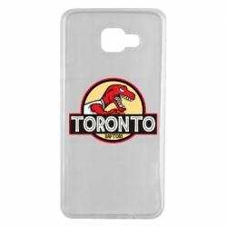 Чехол для Samsung A7 2016 Toronto raptors park
