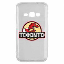 Чехол для Samsung J1 2016 Toronto raptors park