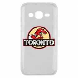 Чехол для Samsung J2 2015 Toronto raptors park
