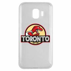 Чехол для Samsung J2 2018 Toronto raptors park