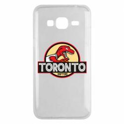Чехол для Samsung J3 2016 Toronto raptors park