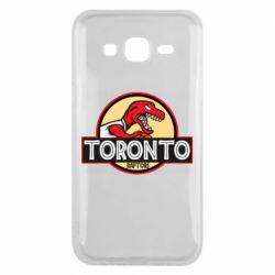 Чехол для Samsung J5 2015 Toronto raptors park