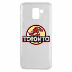 Чехол для Samsung J6 Toronto raptors park