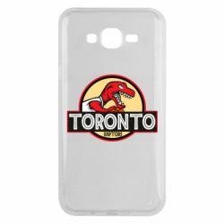 Чехол для Samsung J7 2015 Toronto raptors park