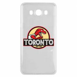 Чехол для Samsung J7 2016 Toronto raptors park