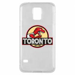 Чехол для Samsung S5 Toronto raptors park