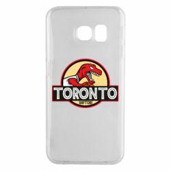 Чехол для Samsung S6 EDGE Toronto raptors park