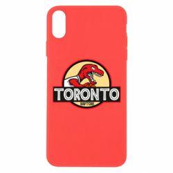 Чехол для iPhone Xs Max Toronto raptors park