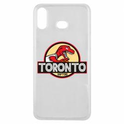 Чехол для Samsung A6s Toronto raptors park