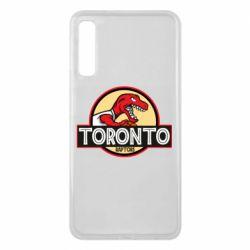 Чехол для Samsung A7 2018 Toronto raptors park