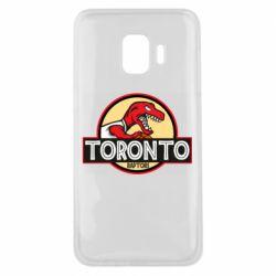 Чехол для Samsung J2 Core Toronto raptors park