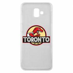 Чехол для Samsung J6 Plus 2018 Toronto raptors park