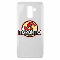 Чехол для Samsung J8 2018 Toronto raptors park