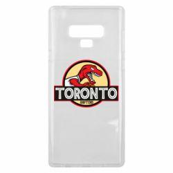 Чехол для Samsung Note 9 Toronto raptors park