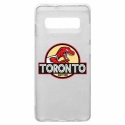 Чехол для Samsung S10+ Toronto raptors park
